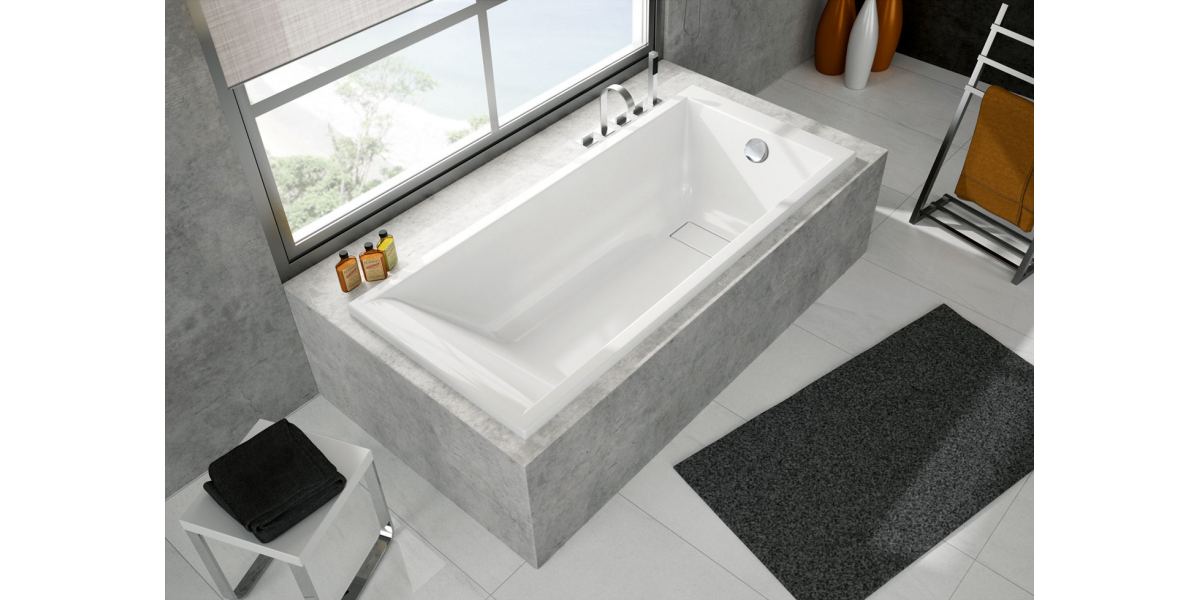 baignoire droite maestro 170 cm avec r flex. Black Bedroom Furniture Sets. Home Design Ideas