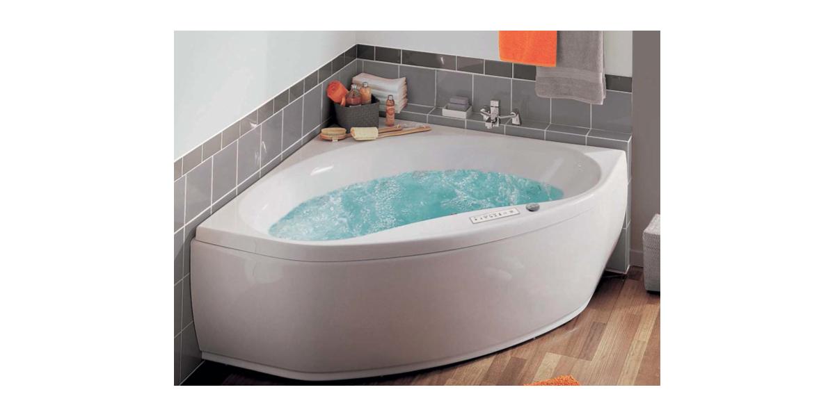 baignoire baln o angle haute qualit s rie nalia avec. Black Bedroom Furniture Sets. Home Design Ideas