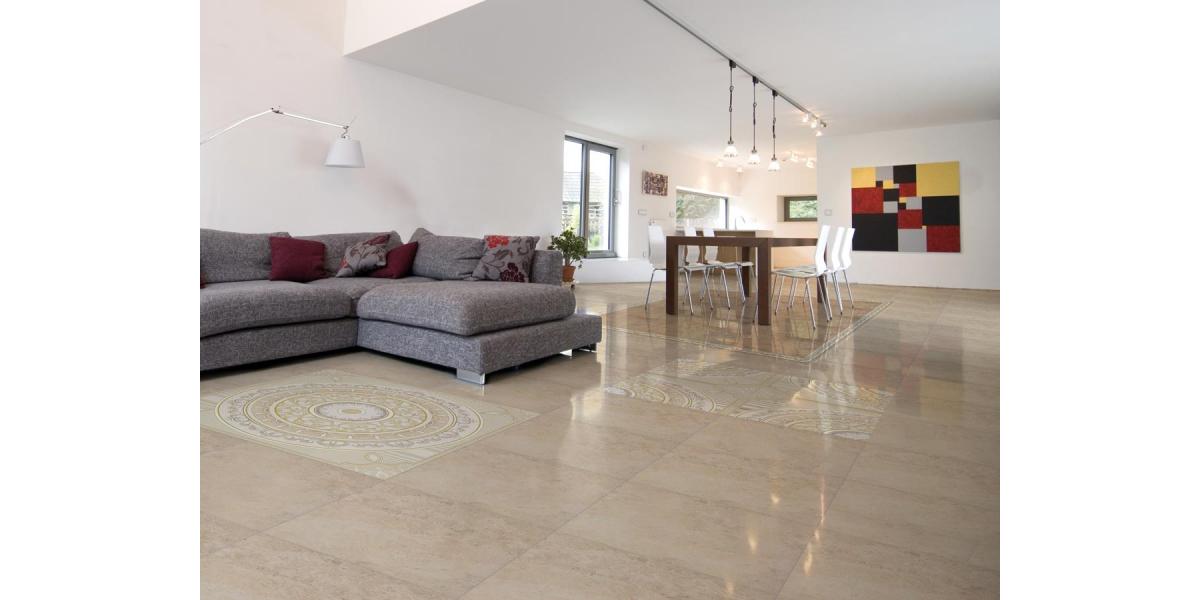 vente carrelage brillante crema 45 45 cm. Black Bedroom Furniture Sets. Home Design Ideas