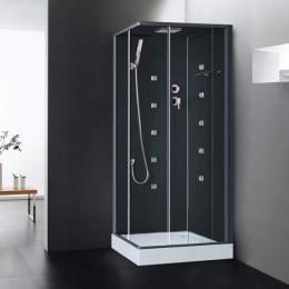 cabine de douche int grale multi fonction avec r flex. Black Bedroom Furniture Sets. Home Design Ideas