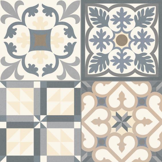 vente carrelage ancien tradition grey 33 3 33 3 cm. Black Bedroom Furniture Sets. Home Design Ideas