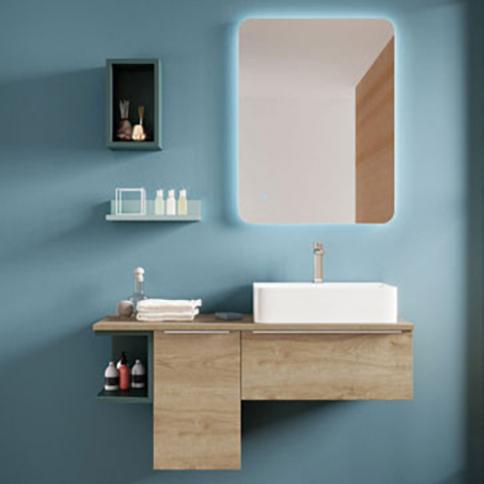 Vente de meuble de salle de bain en ligne avec r flex - Meuble de salle de bain en bambou pas cher ...