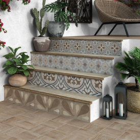 carrelage imitation carreaux ciment avec r flex. Black Bedroom Furniture Sets. Home Design Ideas