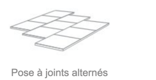 pose joint alterné